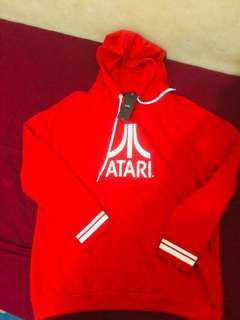 Brand new bershka red atari hoodie