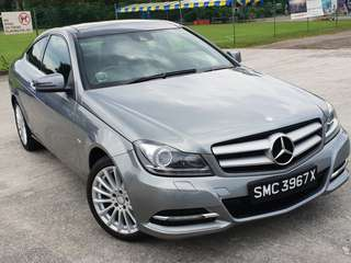 MERCEDES BENZ C250 AT ABS D/AIRBAG 2WD COUPE