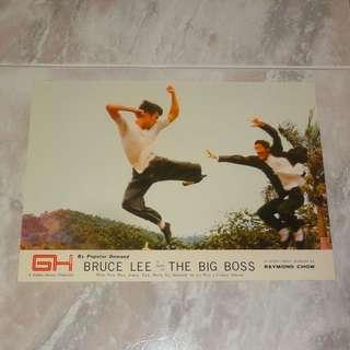 Bruce Lee The Big Boss Original Lobby Card 1972 Hong Kong Golden Harvest 李小龍 唐山大兄