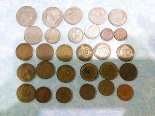 早期 德國 硬幣 29個