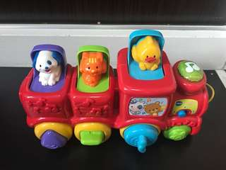 Vtech peekaboo train toy