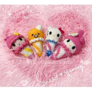 Crochet Sanrio Ice Cream Doll