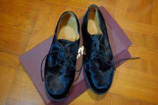 Dr.Martins 男裝馬毛皮鞋