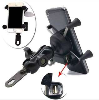 xgrip cellphone holder with charger