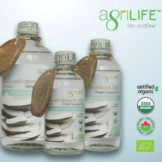 Agrilife Extra Virgin Coconut Oil (cold pressed)