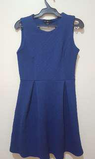 Cache cache Blue mini dress
