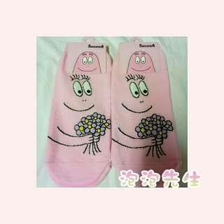 🚚 《泡泡先生》Barbapapa 韓國襪 🇰🇷