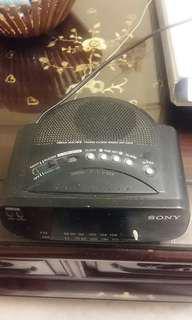 Authentic Sony Radio Alarm Clock