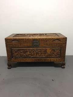 [TSHSE] Vintage Canvas Wood Box