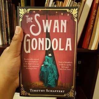 Swan Gondola by Timothy Schaffert Magical Realism