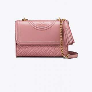 Tory Burch Fleming豆沙粉紅色