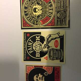 Obey Stickers