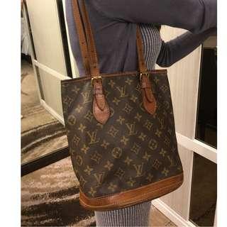 Louis Vuitton Bucket Tote Bag