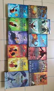 Rick riordan books for sale
