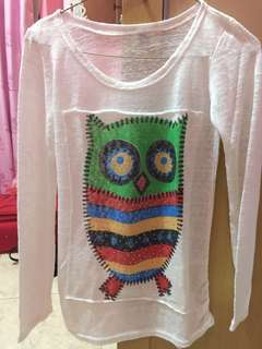 WHITE OWL KNITTED TOP
