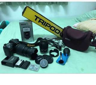 Nikon D7100 package set rush for sale