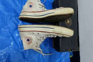 Women's Converse Chuck Taylor All Star Hi Top Unbleached White
