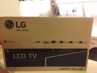 全新 LG HDTV 22MT58