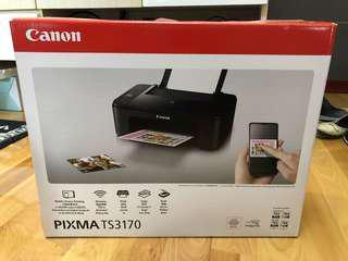 全新彩色無線相片打印機 Canon TS3170 Wireless Photo Printer