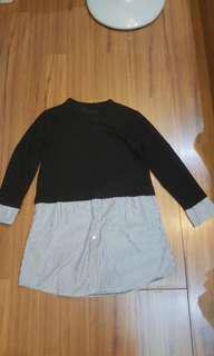 🚚 Black long top