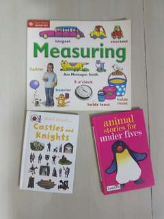 Assorted books for pre-schoolers