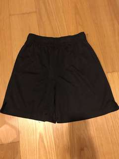 Active & Co black shorts size 12