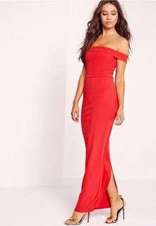 STUNNING NEW PETITE RED DRESS - SIZE 4-6