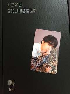 BTS (防彈少年團)tear CD連小卡