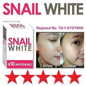 Snail white whitening soap