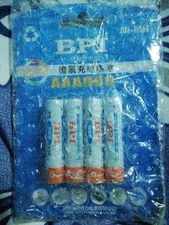 AAA Rechargeable Battery 900mAh 1.2V