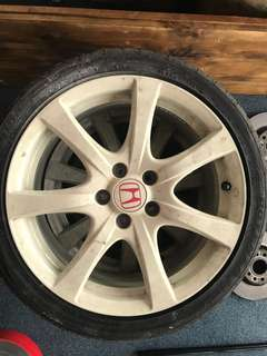 "TypeR ORIGINAL Rim - 18"" (1 for RM800 @ 3 for RM2k)"