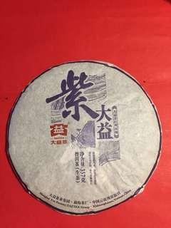 普洱茶餅:2015 年[紫大益];如相片所示