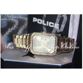 Police Watch Ladies (Crystallize Rect)