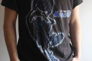 retro 90s TAZ x ORLANDO MAGIC Space Jam graphic tshirt