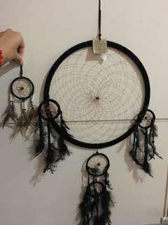 Dream catcher hitam