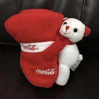 Coca Cola Bear Blanket