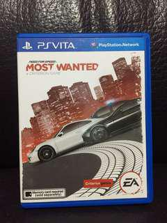 Psv Need For speed most wanted EA psvita ps vita