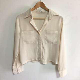 Mossman Lightweight Cropped Shirt