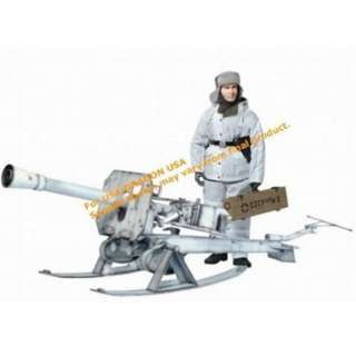 Dragon World War 2 German Puppchen 8.8cm anti tank gun
