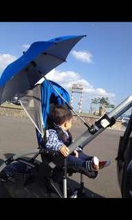 嬰兒推車(雨遮、陽傘、水壺架)