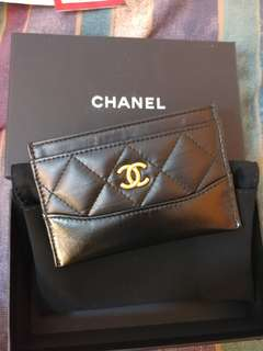 Chanel Grabrielle card holder