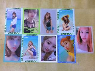[WTS/WTT] TWICE SUMMER NIGHTS PHOTOCARDS