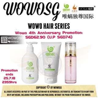 🚚 Wowo Shampoo Set