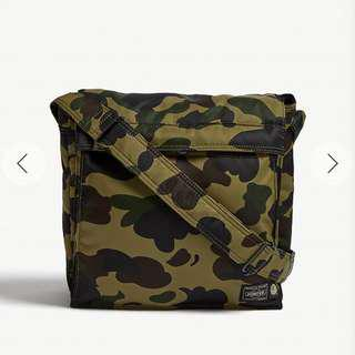 BAPE X Porter 1st Camouflage Cross-body Bag