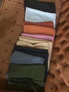 """Jilbab poly cotton """"Bella square"""""""