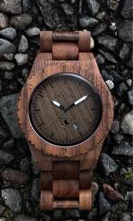 The Charleston wooden watch
