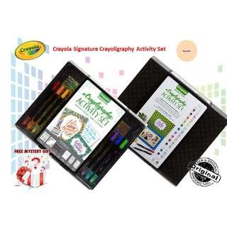 Crayola Signature Crayoligraphy Activity Set