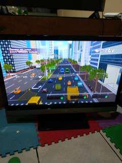 Toshiba Power TV LED jarang dipakai. Nego!