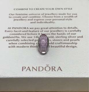 Pandora Pink Shimmer Murano Charm
