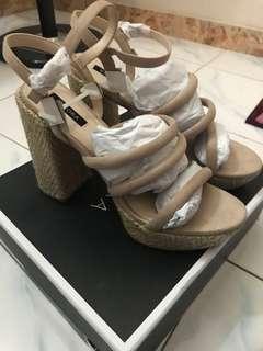 Zalora High Heels Platform Heels/Wedges #postforsbux